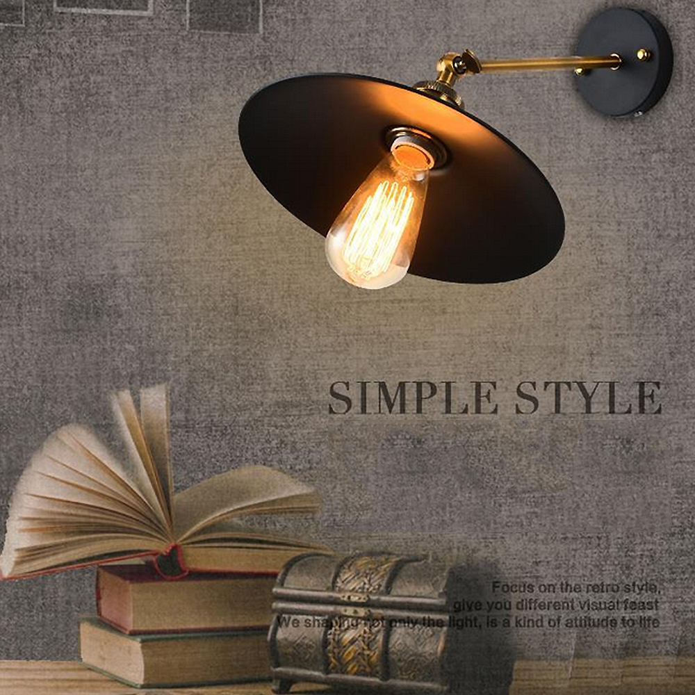 ASCELINA Loft Wall Lamp Sconce Wall Lights For Home Industrial Vintage Led Bedroom  Light Up Down Lighting Stairs E27 85 260V In LED Indoor Wall Lamps From ...