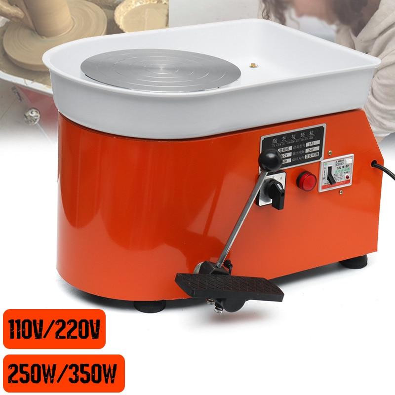 110 v/220 v 250 w/350 w 25 cm Tour De Potier Argile Machine Pour Travail En Céramique D'argile artisanat d'art Pour Travail En Céramique