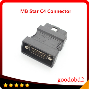 For Benz MB STAR C4 Multiplexer SD Connect Compact 4 C4 Diagnostic Tool OBD2 16pin Connect Adapter Car 16pin Connector Adaptor diagnostic tool mb carsoft 7 4 multiplexer ecu chip tunning mcu controlled interface for mercedes benz carsoft v7 4 multiplexer
