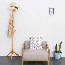 MoeTron DIY Clothes Rack Floor Standing Coat Room Hanger And Cap Storage