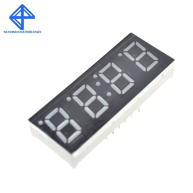 Digital 4 Bits Electronic Clock Production Suite Diy Kit