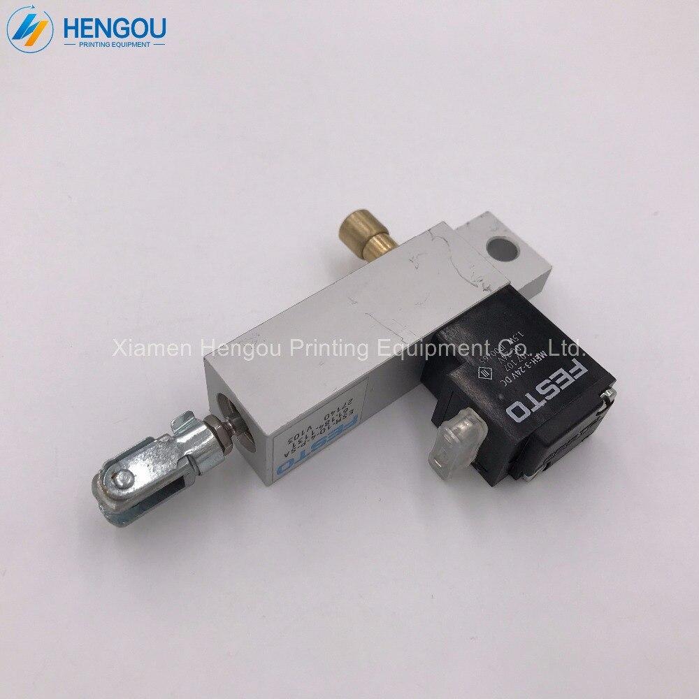 цена на 3 Pieces Heidelberg SM74 Cylinder 24V DC Heidelberg PM52 solenoid valve SM52 fittings cylinder 61.184.1131