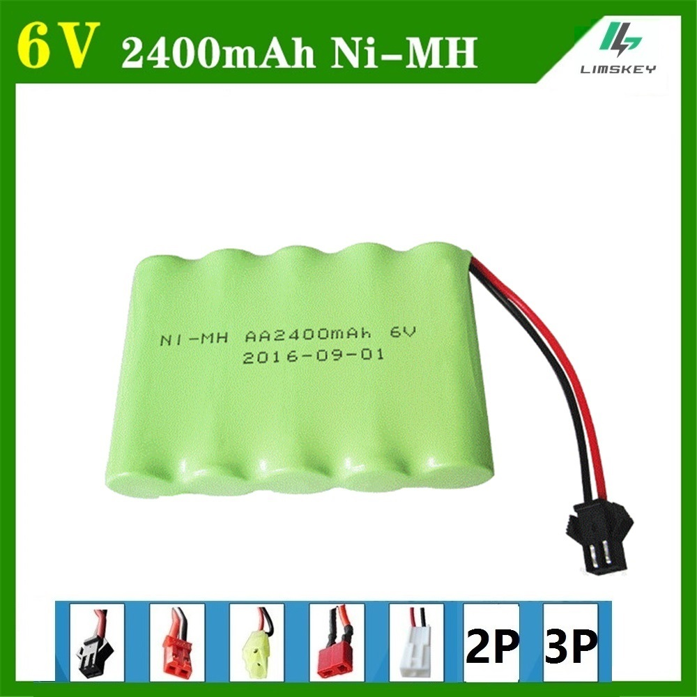 6V 2400mAh Remote Control toy electric lighting lighting security facilities AA battery RC TOYS Ni-MH battery group аккумуляторы hr06 aa duracell ni mh 2400 2500 mah 2шт