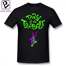 581ee4125 Tentacle T Shirt Maniac Mansion Day Of The Tentacle T-Shirt Classic 5x Tee  Shirt