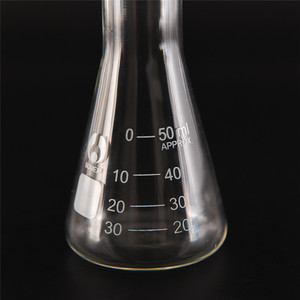 50ml Clear Lab Conical Flask G