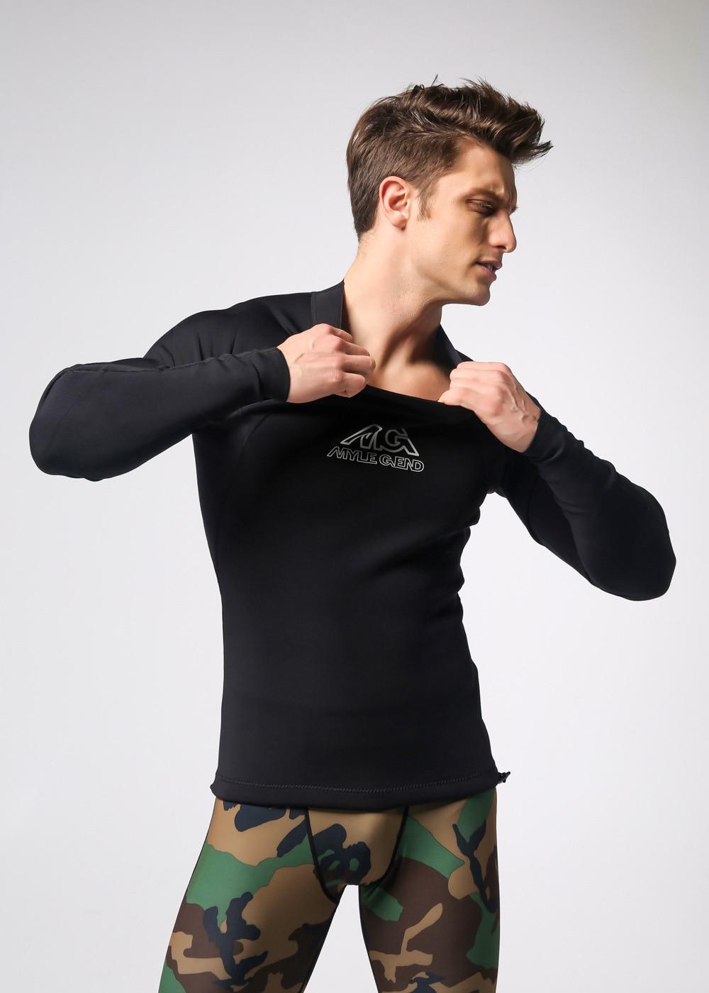 ФОТО A spot on behalf of man CR super elastic neoprene jacket surf clothing wetsuit top diving suit
