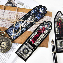 Y08 30 pcs/pack Vintage European Churches Paper Decorative Bookmark Craft Creative Stationery Gift Film Bookmark