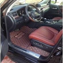 Хорошее качественные маты! Специальные автомобильные коврики для Lexus LX 570 5 мест водонепроницаемые Автомобильные ковры для LX570-2008