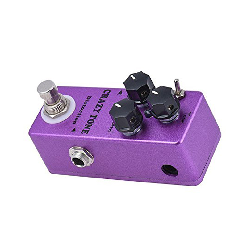 New MOSKY CRAZY TONE RIOT Distortion Single Guitar Effect Pedal True Bypass Guitar image