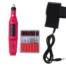 Electric Manicure Drill Power Drill Machine Pro Electric Manicure Pedicure Nail Drill File Polish Pen Shape Tool Nail Care