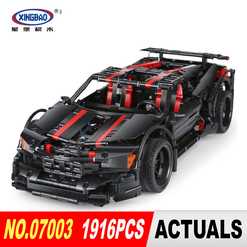 XingBao 07003 1916Pcs Creative MOC Technic Series The 2015 Assassin X19 Set Educational Building Blocks Bricks Toys Gift 07003 1pcs compatible developer for minolta 7020 7022 7030 7130 7025 copier parts