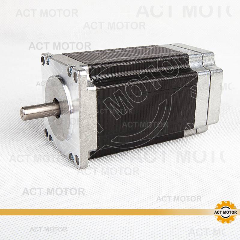 ACT Motor 1PC Nema23 Brushless DC Motor 57BLF03 24V 188W 3000RPM 3Phase Single Shaft CNC Router Kit Cut Mill Laser Plasma cnc dc spindle motor 500w 24v 0 629nm air cooling er11 brushless for diy pcb drilling new 1 year warranty free technical support