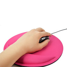 CARPRIE Gel Wrist Rest Support Game Mouse Mice Mat Pad for Computer PC Laptop Anti Slip circular Mouse Pad 21 * 21cm