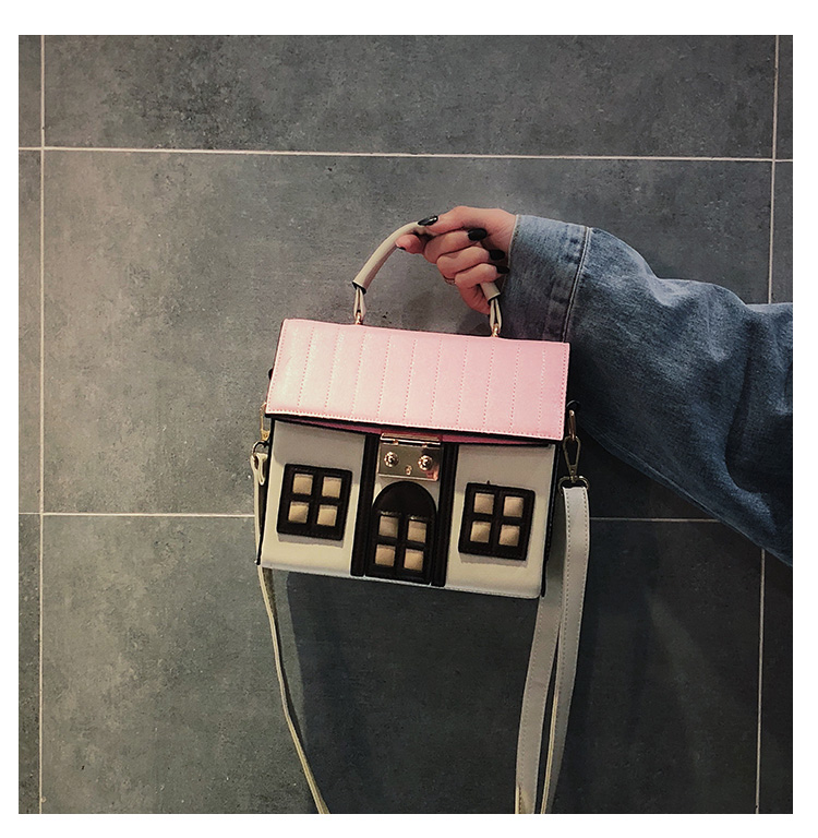 Bolsa divertida en forma de casa
