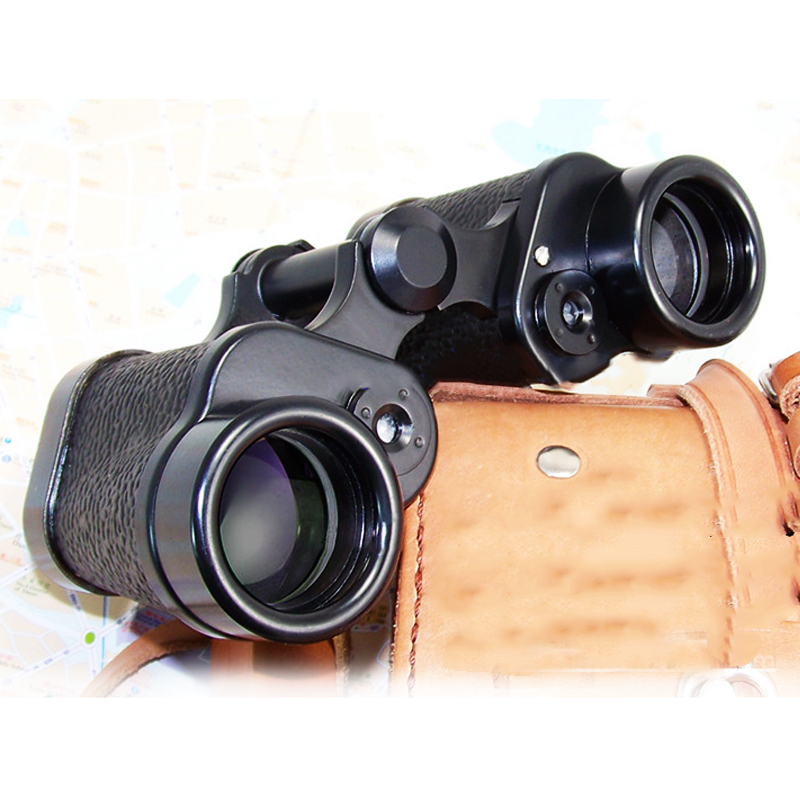 Military Outdoor Binocular Telescope 8X30 with Built in font b Rangefinder b font Reticle 120M 1000M