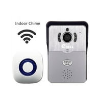 Zwei Weg Intercom 720 p WIFI Türklingel Alarm Video Tür Telefon