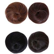 HiDoLA Apple Daihatsu Costume Chignon Ball Head Wig High Temperature Fiber Female for Women
