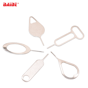 Sim Card Tray Ejector Eject Pin Key Removal Tool For iPhone 5 6 6S 7 Plus 8 XR huawei p8 lite P9 xiaomi  OPPO 5000pcs/lot