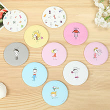 Fashion Portable Cosmetics Mirror For Women Girl New Arrived Cosmetic Compact Mirrors Cute Cartoon Pocket Makeup
