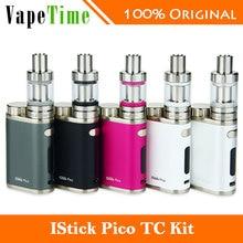 Electronic Cigarette Eleaf iStick Pico Full Kit with 75W iStick Pico TC Box Mod Vape & MELO III 3 Mini Tank NO 18650 Battery