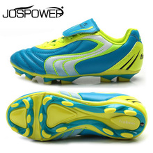 Tiebao Professional Children Kids Boys Training Soccer Shoes Teenagers HG & AG Soccer Cleats Sneakers Outdoor Football Boots