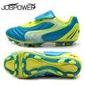 Tiebao profesional niños infantil chicos zapatos de fútbol de entrenamiento adolescentes HG y AG Soccer Cleats exterior Sneakers botas de fútbol