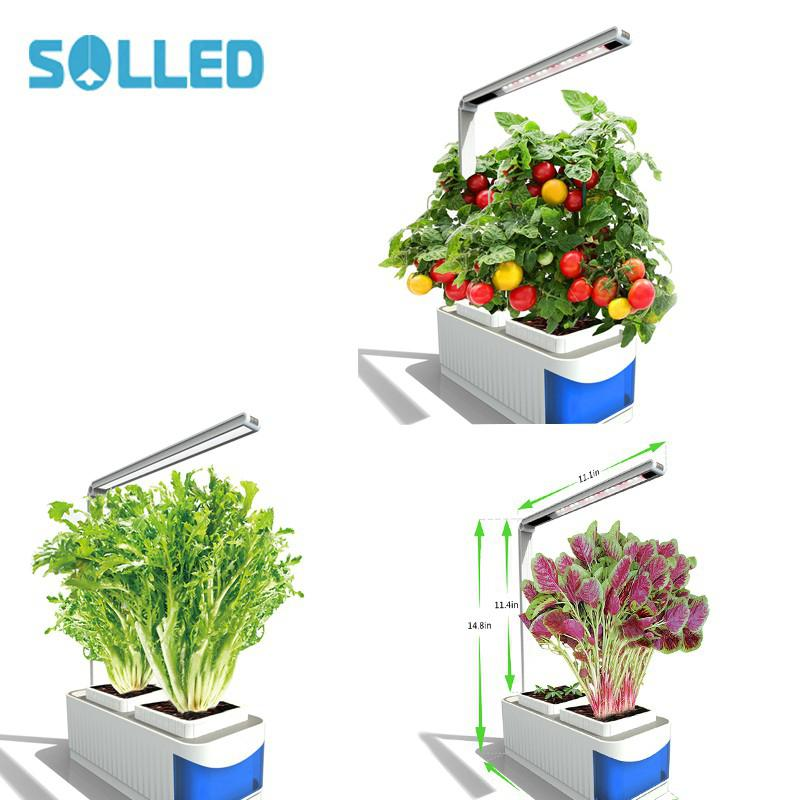SOLLED LED Plant Grow Light Lamp for Indoor Hydroponic Plant Vegetable Cultivation Horticulture Industrial Seedling robert hall d annual plant reviews biology of plant metabolomics isbn 9781444339932