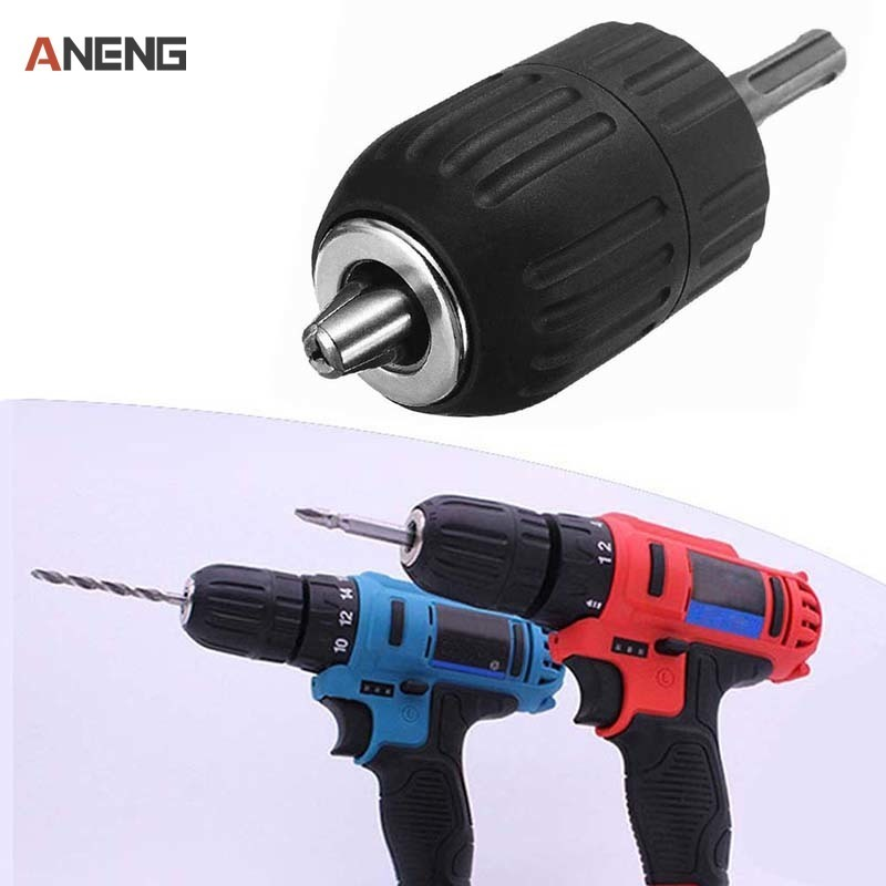 2-13MM Professional Drill Chuck Keyless Drilling Quick Change Bit Adapter Converter SDS Adaptor Hardware Tool Accessories