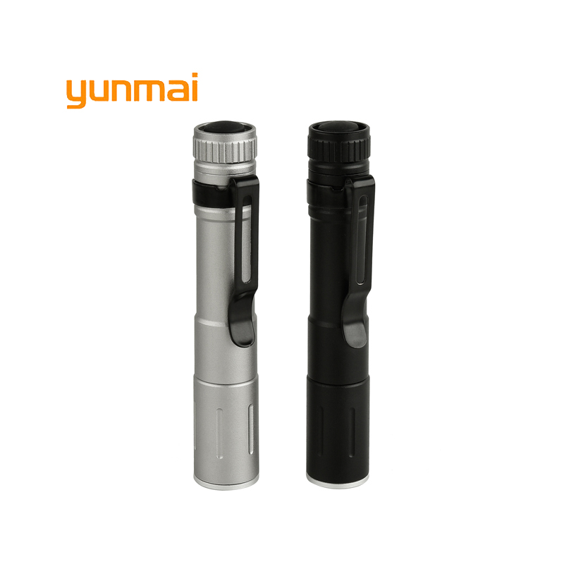 2018 Mini LED Flashlight ZOOM 7W NEW Q5 2000LM Waterproof Lanterna LED Zoomable Torch AAA Battery Powerful Led For Hunting