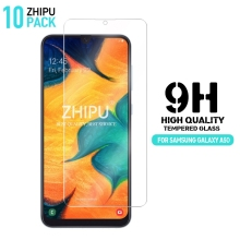 10 Pcs Tempered Glass For Samsung Galaxy A50 Screen Protector 2.5D 9H Protective