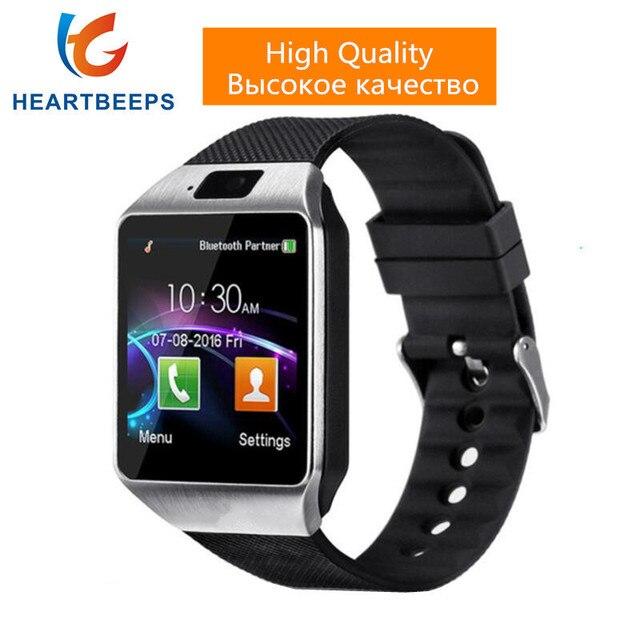 Горячая DZ09 bluetooth смарт часы для android телефон поддержка SMI/TF мужчины женщины спортивные умные часы телефон