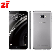 Оригинальные new Samsung Galaxy C7 мобильного телефона C7000 4 ГБ Оперативная память 32 ГБ/64 ГБ Встроенная память Octa Core Dual Sim 2.0 ГГц 16MP Камера 3300 мАч
