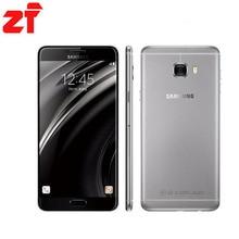 Original nouveau Samsung Galaxy C7 Mobile Téléphone c7000 4 GB RAM 32 GB/64 GB ROM Octa Core Dual SIM 2.0 GHz 16MP Caméra 3300 mAh