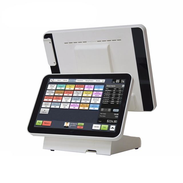 Compos – caisse enregistreuse avec MSR, écran tactile de 15 pouces, personnalisable, haut-parleur intégré, 1619D 2