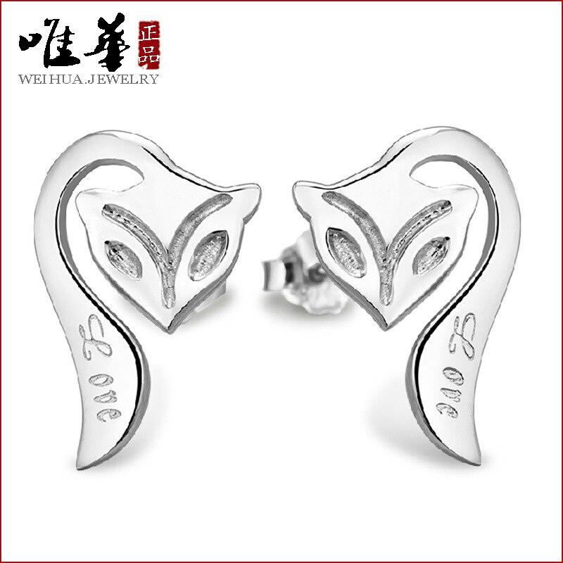 plated earrings jewelry wholesale Korean butterfly spot direct plating anti allergy Earrings