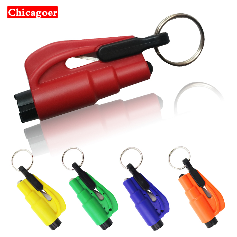 Safety Tool Ornaments Car Styling Life Saving Hammer Emergency Rescue Tool Car Accessories Seat Belt Cutter Window Glass Break