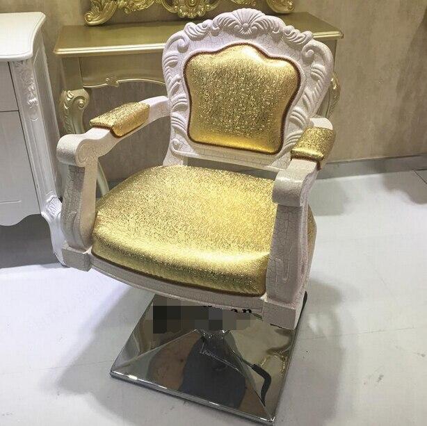 European Hairdressing Chair. Haircut Chair. Upscale Hairdressing Chair