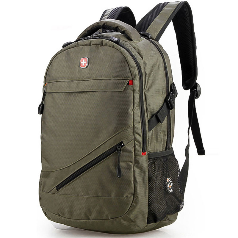 Swisswin Backpack Men 14 15 Laptop Backpack High Quality Tactical Military Bag Hiking Travel School Bag
