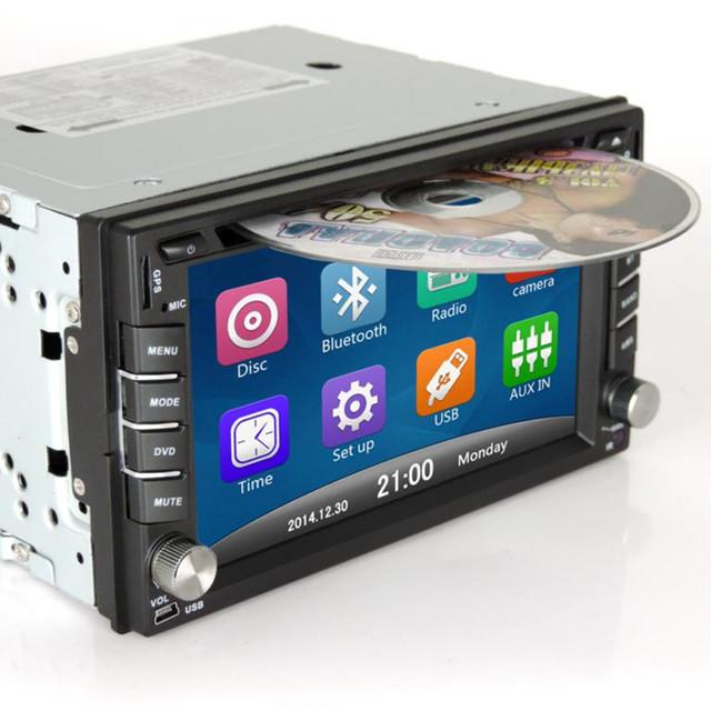OEM 7 pulgadas resistiva pantalla Bluetooth phoneHD videogeneral propósito máquina 8 GTFcard/Mundo tocar DVD del coche de navegación onemachine