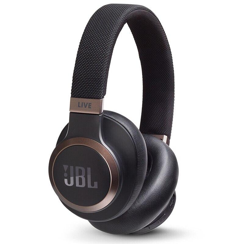 JBL LIVE 650 BTNC casque antibruit automatique AI voix intelligente sans fil Bluetooth casque filaire téléphone portable casque de jeu