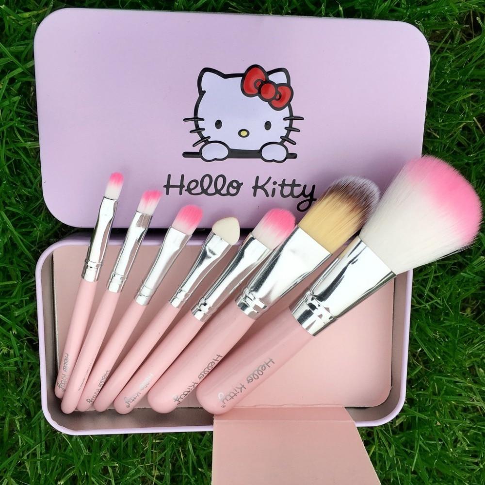 Tesoura de Maquiagem olá kitty escova tamanho mini Modelo Número : Vh007