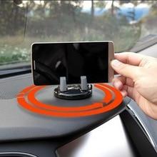 Универсальный автомобильный держатель TOSPRA с поворотом на 360 градусов, автомобильный держатель для мобильного телефона, подставка для приборной панели, кронштейн, много цветов, 1 шт