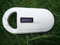 134 2KHz FDX B Glass Animal Reader Pet ID Microchip RFID Handheld Scanner