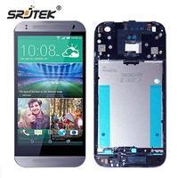 Srjtek For HTC One Mini 2 LCD Display Matrix Touch Screen Digitizer Full Assembly With Frame