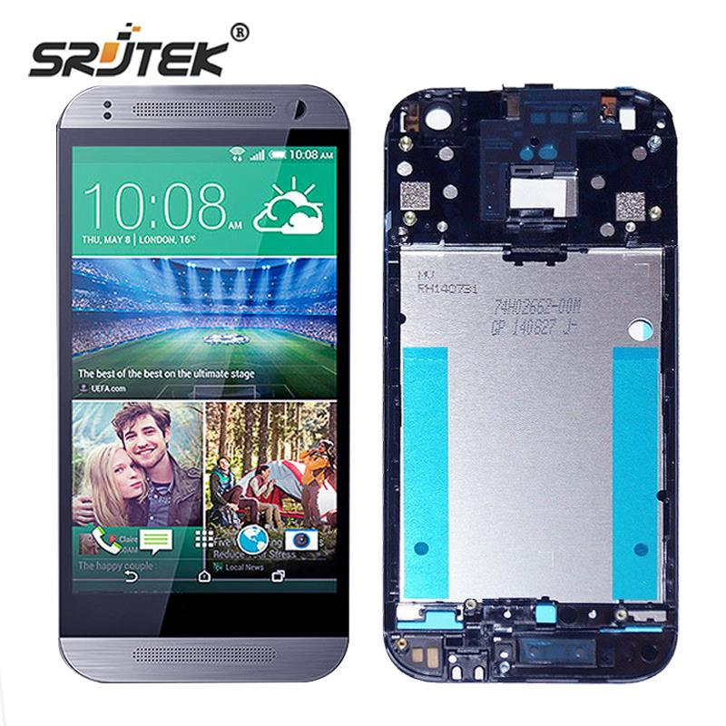 Srjtek For HTC One Mini 2 LCD Display Matrix + Touch Screen Digitizer Full Assembly With Frame 4.5 For M8 Mini One Mini 2