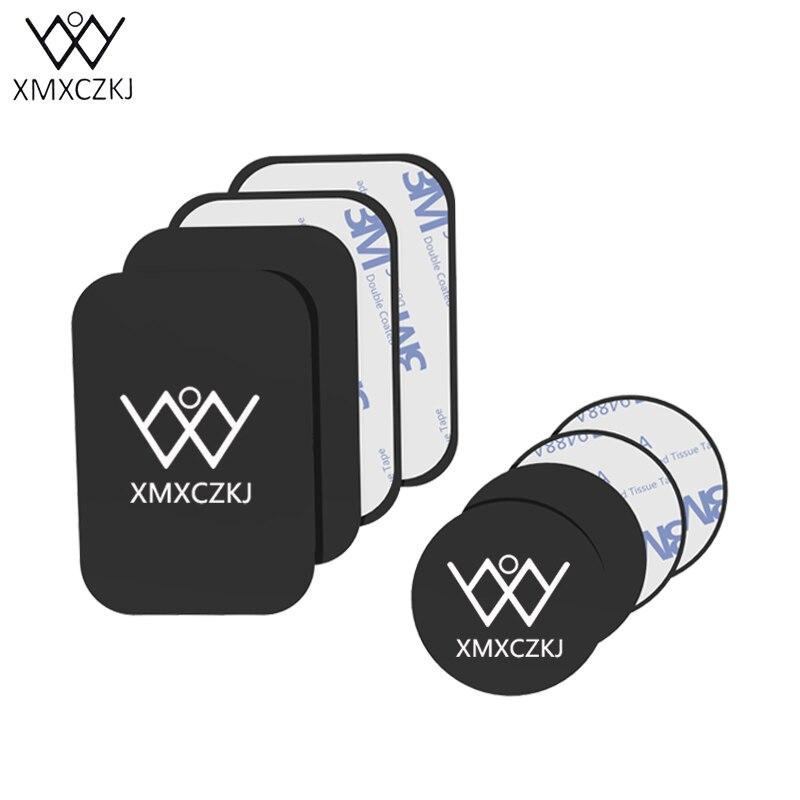 XMXCZKJ универсальные металлические пластины Replacement Kit For магнитного автомобильный держатель телефона крепление металлическая пластина магни…
