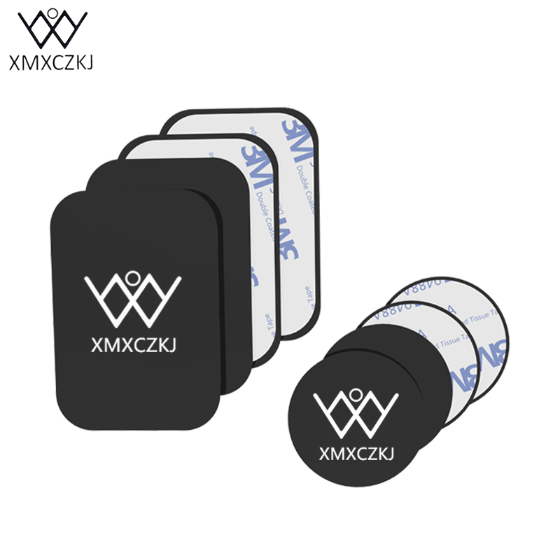 XMXCZKJ Universal Metal Plate Replacement Kit For Magnetic Car Phone Holder Mount Metal Plate Magnet Holder For Iphone Samsung