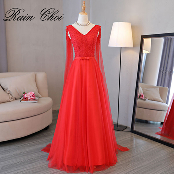 Long Bridesmaid Dresses 2020 A-Line Formal Prom Gown Wedding Party Dress