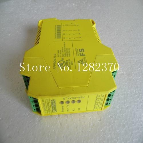 все цены на New original German Phoenix Safety Relay PSR-SCP-24UC / ESA4 / 3X1 / 1X2 / B онлайн
