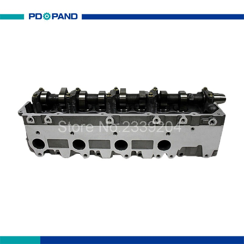 US $322 25 12% OFF|1KZTE 1KZ TE complete cylinder head assy 908882 for  Toyota Land Cruiser Granvia Hiace Hilux 4Runner 11101 69175 3 0TD-in  Cylinder